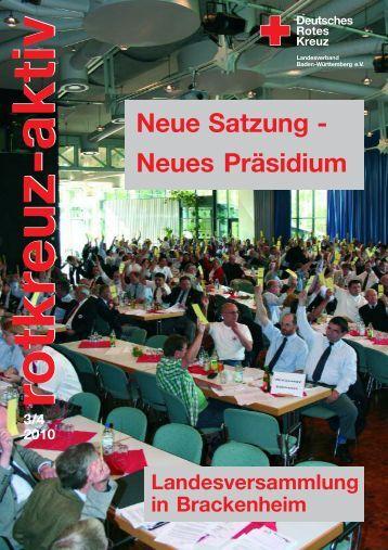 rotkreuz-aktiv 03/04-2010 - DRK Landesverband Baden-Württemberg
