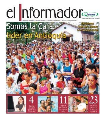 Somos la Caja líder en Antioquia - Comfama
