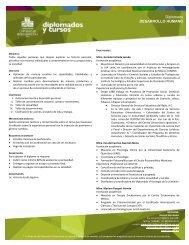 Diplomado DESARROLLO HUMANO - Universidad Iberoamericana ...