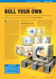 ROLL YOUR OWN - Linux Magazine