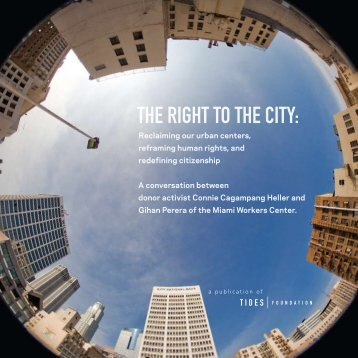 The Right To The City - Racial Equity Tools