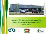 Modifications aux règlements généraux - Ville de Sainte-Catherine ...