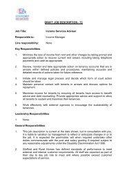Job Activity - Stafford and Rural Homes