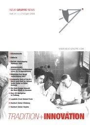 Heft 31 - Fruehjahr 2008.pdf - Neue Gruppe