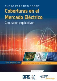 Coberturas en el Mercado Eléctrico - Funds People