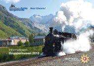 Informationen für Gruppenreisen 2013 - dfb