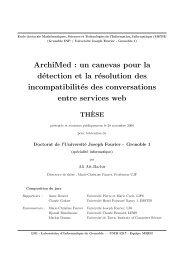 ArchiMed : un canevas pour la détection et la résolution des ...