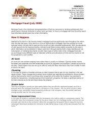 Mortgage Fraud Report