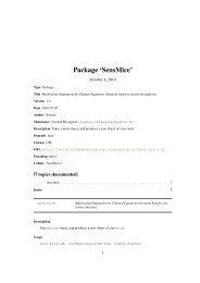 Package 'SensMice'