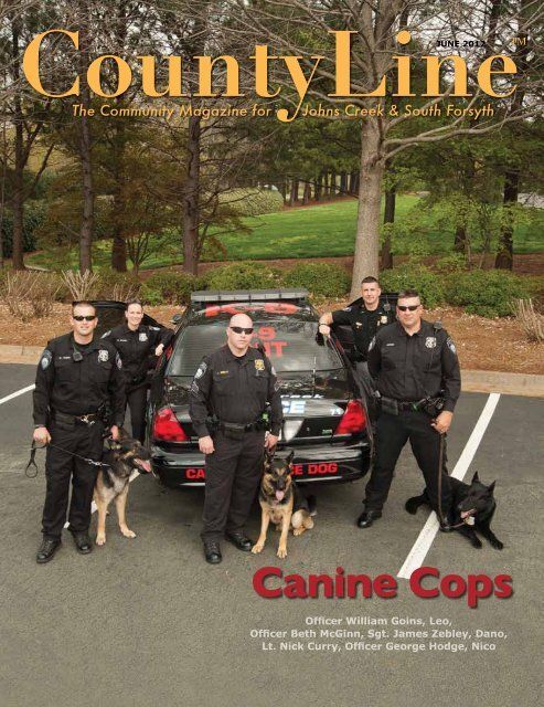 Canine Cops - County Line Magazine