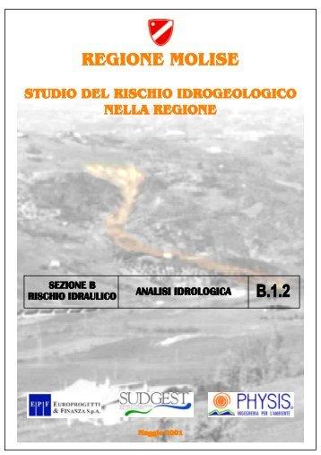 Analisi idrologica - Regione Molise