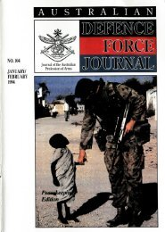 ISSUE 104 : Jan/Feb - 1994 - Australian Defence Force Journal