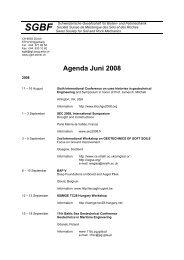 Agenda vom Juni 2008 - SGBF-SSMSR