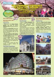 GREAT HONSHU EXPERIENCE – All Action Fun ... - Reliance Travel