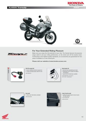 For Your Extended Riding Pleasure - Doble Motorcycles