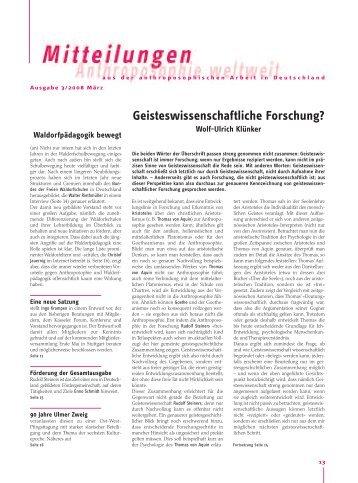 Arbeitszentren magazine - Anthroposophische mobel ...