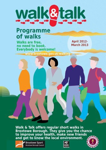 Broxtowe Borough Walk and Talk Programme - Experience ...