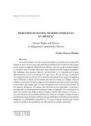 Derechos humanos: mujeres indígenas en México - SciELO