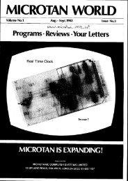 Issue 3 - Tangerine Microtan 65