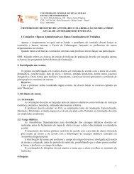 critérios de registro de atividades e elaboração do relatório anual de ...