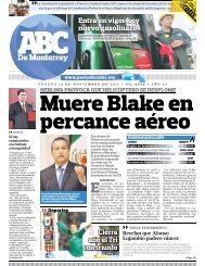 Muere Blake en percance aéreo - ABC