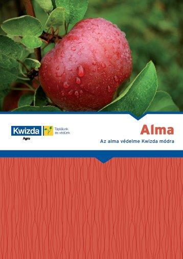 Az alma védelme Kwizda módra