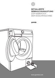 detaillierte gebrauchsanleitung zum gebrauch der waschmaschine