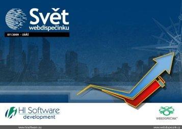 07/2009 - ZÁŘÍ - Webdispečink