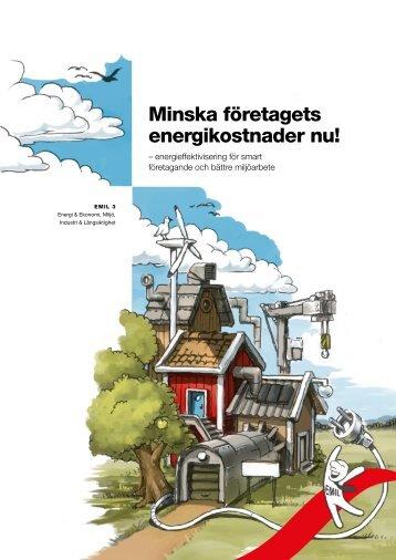 Minska företagets energikostnader nu - information från ...