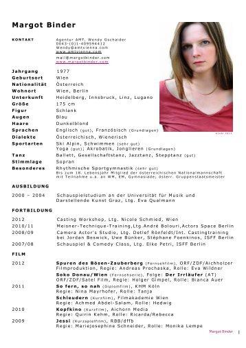 PDF-Download - Margot Binder