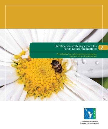 Planification stratégique pour les Fonds Environnementaux