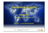 Developments in Lighting - Our South West