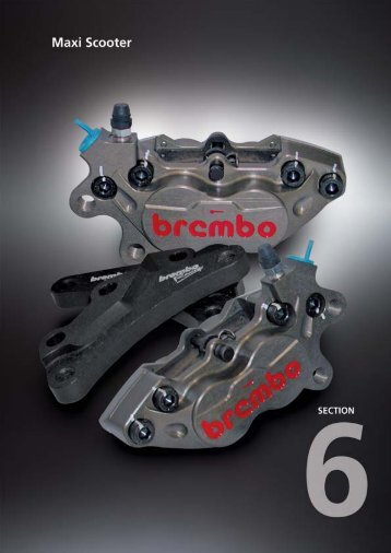 Catalogo BREMBO RACING Scooter - Motorquality
