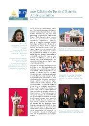 Festival de Biarritz 2011 20è édition - Espace Langues