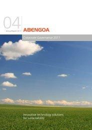 Corporate Governance 2011 - Abengoa