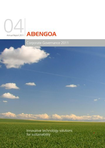 Corporate Governance 2011 - Abengoa