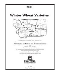 Recommended Varieties: Hard Red Winter and - Department of ...