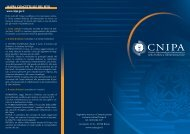 Impaginato DEFINITIVO.qxd - Archivio Storico CNIPA