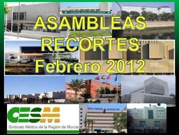 2012 conferencia recortes presentacion hospitales feb2012
