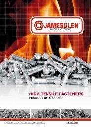 HIGH TENSILE FASTENERS - James Glen