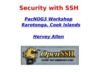 SSH Security Discussion and Lab