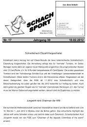 Nr. 17 Jahrgang 30 10.02.2012 - Schachverein Hörsching