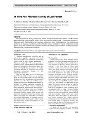 In Vitro Anti Microbial Activity of Leaf Powder - International Journal ...