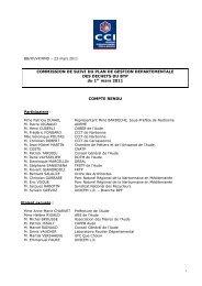 Commission BTP du 1er mars 2011 - (CCI) de Narbonne, Lézignan ...