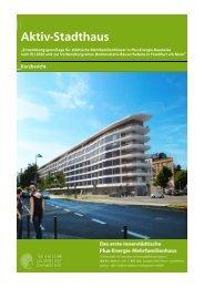 Download des Kurzberichts - Entwerfen und Energieeffizientes Bauen