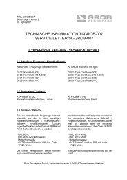 TECHNISCHE INFORMATION TI-GROB-007 SERVICE LETTER SL ...