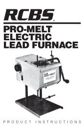 Pro-melt electric lead furnace - RCBS