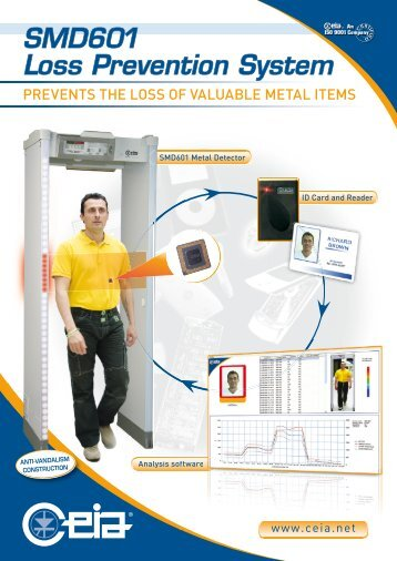 SMD601 Loss Prevention System - CEIA S.p.A.