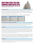 New York State Tax Law Changes Enacted in 2012 - Withum - Page 2