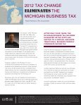 New York State Tax Law Changes Enacted in 2012 - Withum - Page 5